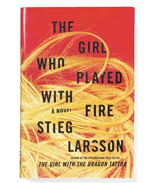 """The Girl Who Played with Fire"" by Stieg Larsson"