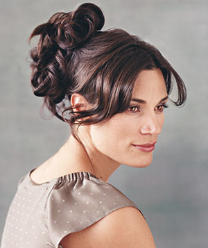 Cascade hairstyle