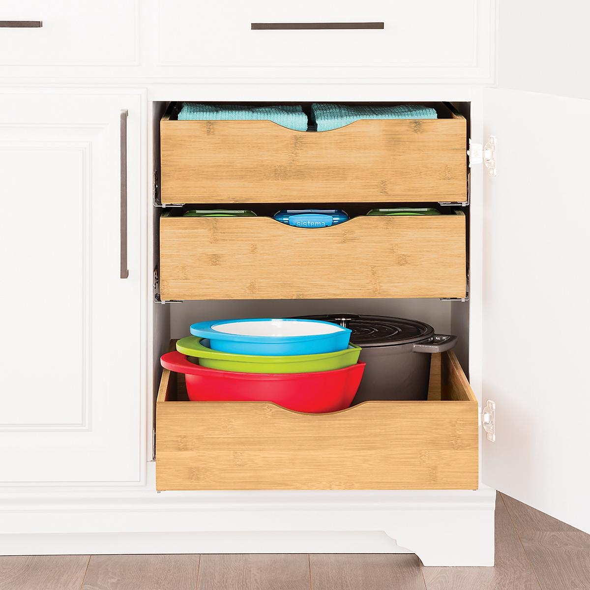 Slide Out Closet Shelves: 24 Smart Organizing Ideas For Your Kitchen