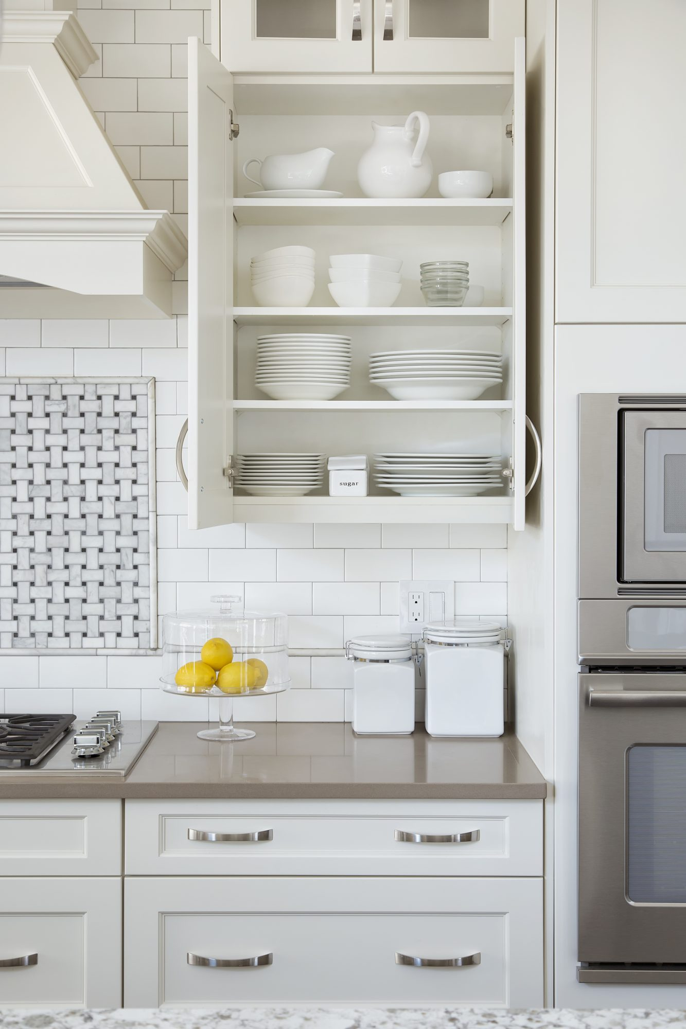 24 Smart Organizing Ideas for Your Kitchen - Real Simple on organized kitchen cabinets, clean kitchen cabinets, before and after kitchen cabinets, glazed kitchen cabinets, dish organizers in kitchen cabinets, distressed kitchen cabinets, white kitchen cabinets, organizing kitchen cabinets, secret stash kitchen cabinets,