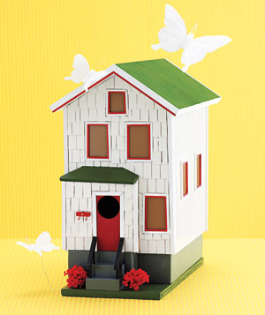Bowen custom-built birdhouse