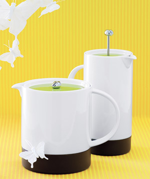 Menu teapot and coffee press