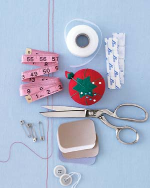 Zippers and Other Sewing Supplies