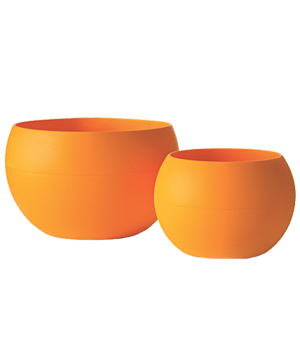 Guyot squishy orange bowl and cup set