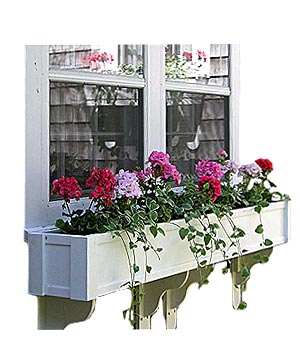 Versatex blossom window box