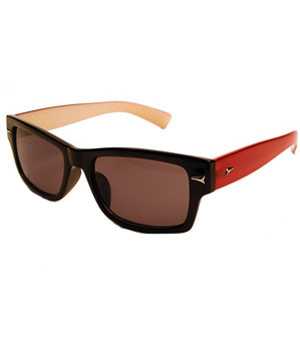 Michaela Red sunglasses by Foster Grant
