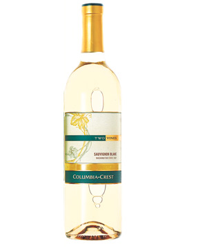 2007 Columbia Crest Two Vines Sauvingnon Blanc wine