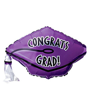 Graduation Cap Balloon