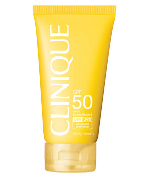 Clinique SPF 50 body cream