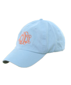 Marley Lilly Monogrammed Baseball Hat