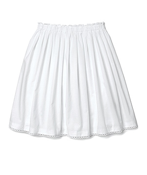 White full skirt