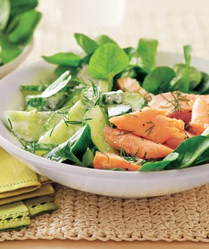Salmon and Watercress Salad
