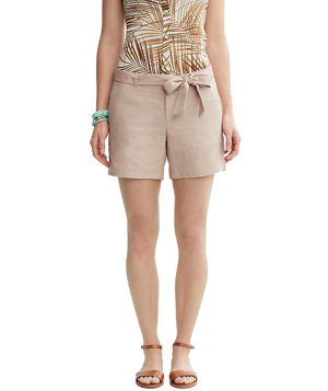 Banana Republic Tie-Front Short