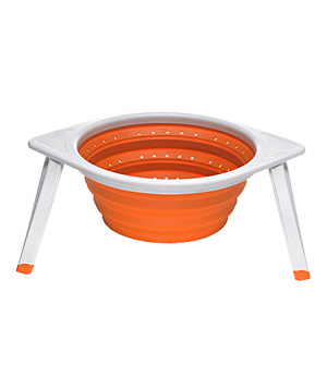 Chef'n silicone collapsible drainer