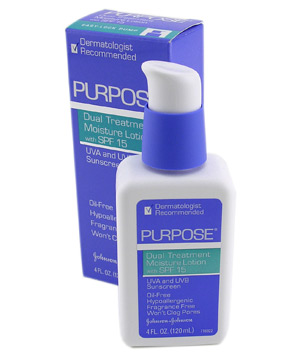 Purpose Dual Treatment Moisture Lotion SPF 15