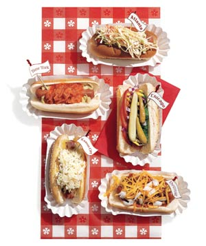 US regional hot dogs