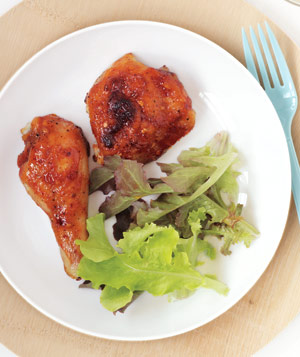 Sticky Grilled Chicken