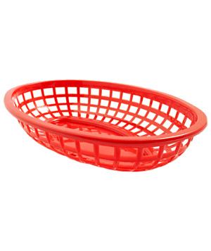 Red Burger Basket