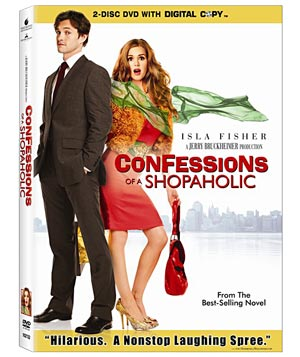 """Confessions of a Shopaholic"" on DVD"