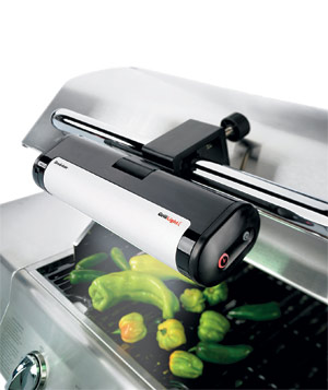 Brookstone Handle-Mount Grill light