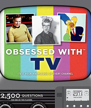 """Obsessed With TV"" game"