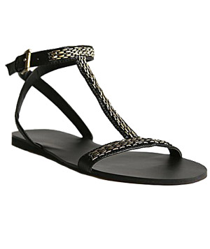 T-Strap Sandals by Deena & Ozzy
