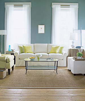 Living Room With White Sofa Part 53