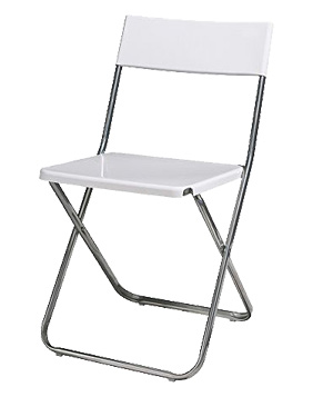 Jeff Folding Chair by Ikea