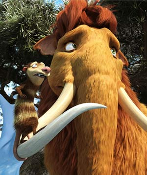 """Ice Age: Dawn of the Dinosaurs"" filmstill"