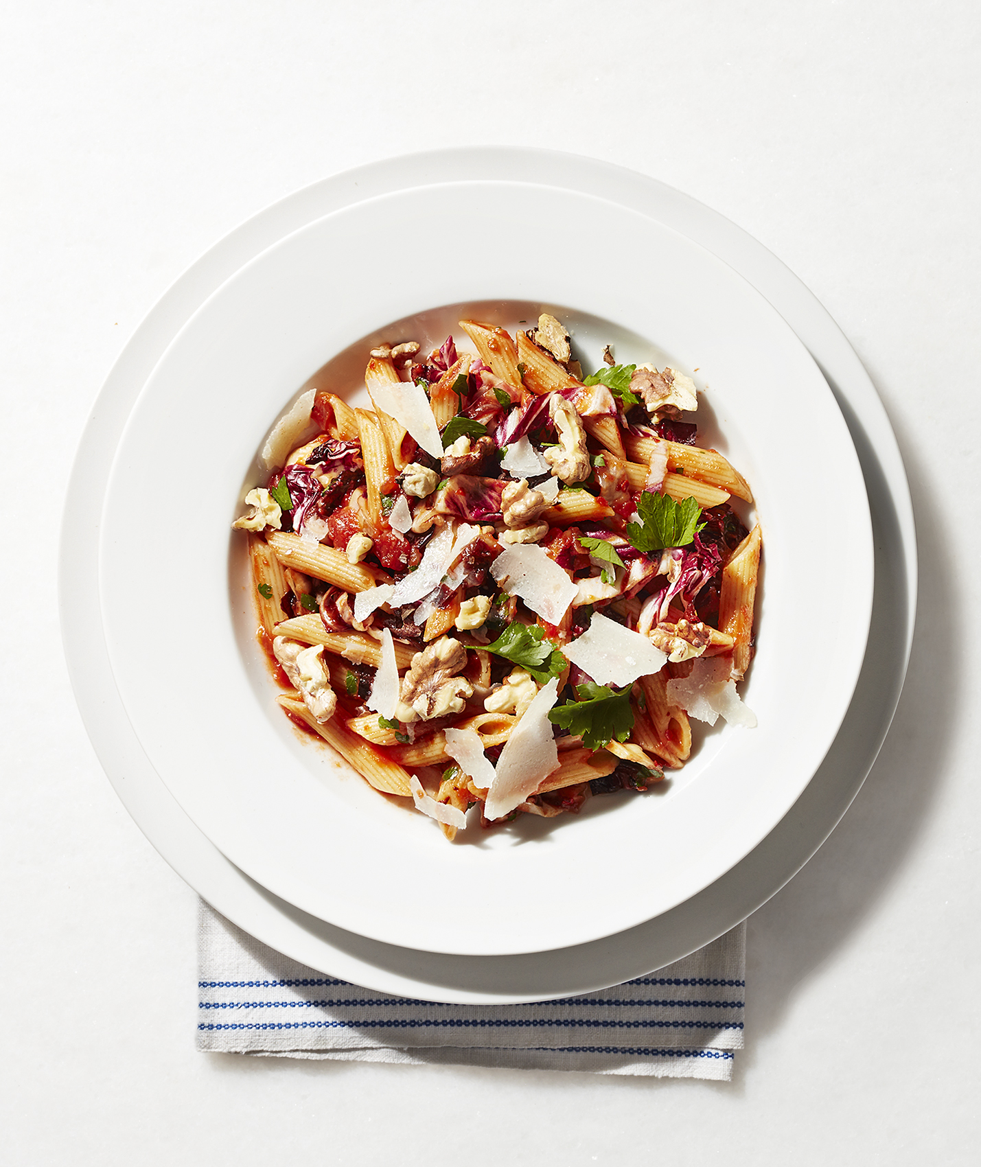 Penne With Red Sauce, 