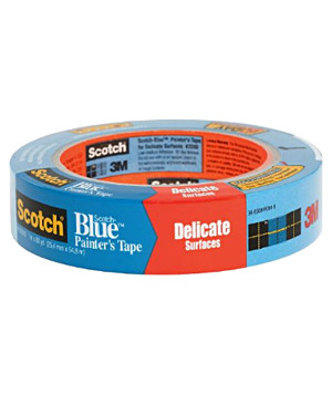 Scotch-Blue Painter's Masking Tape for Faux & Decorative Surfaces