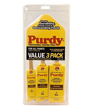 Purdy 3-Pack Brush Set
