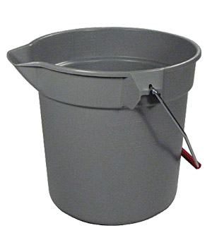 Rubbermaid 10-quart round bucket