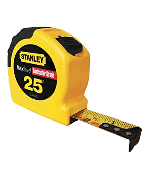 Stanley 25-foot Maxsteel Tape Measure