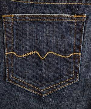 Red Engine Jeans pocket