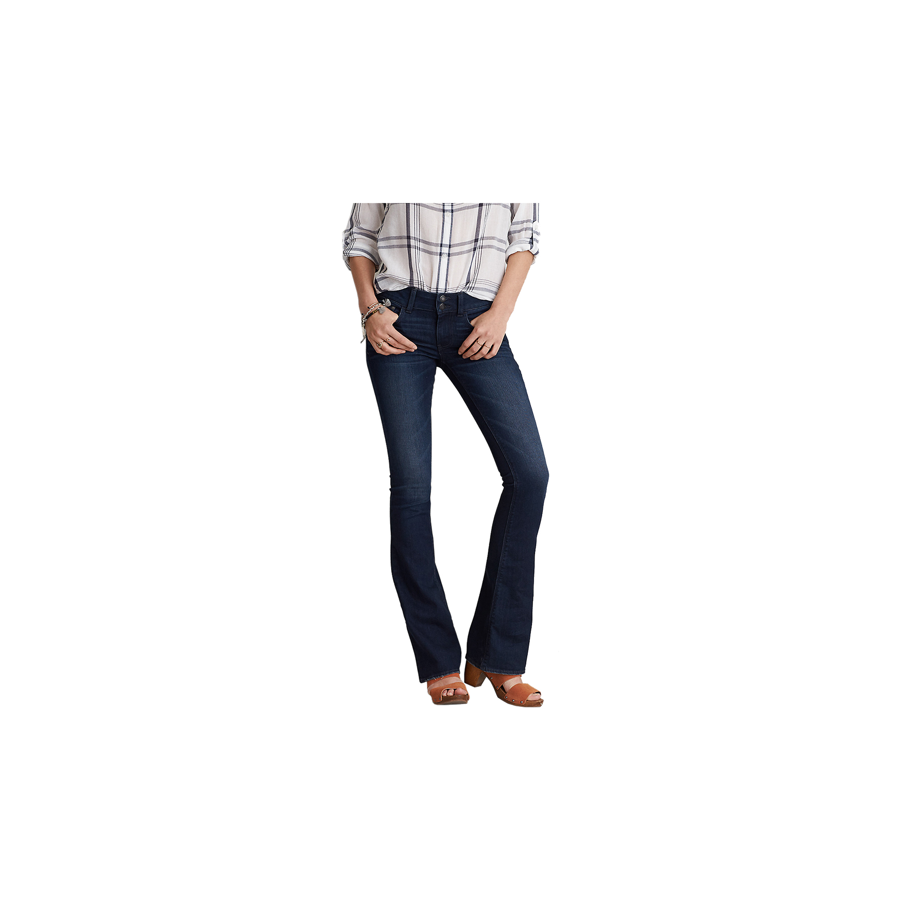 For a Tummy: Dressier Jeans