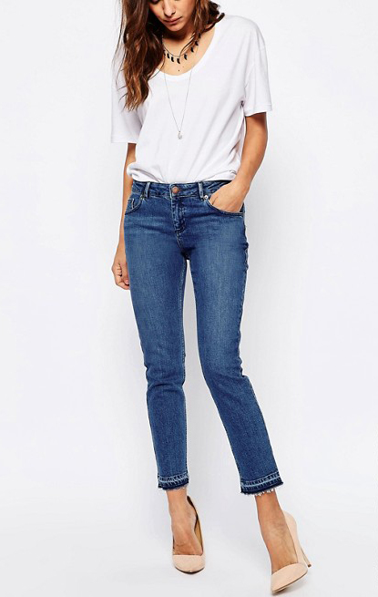 For a Tall Figure: Casual Jeans