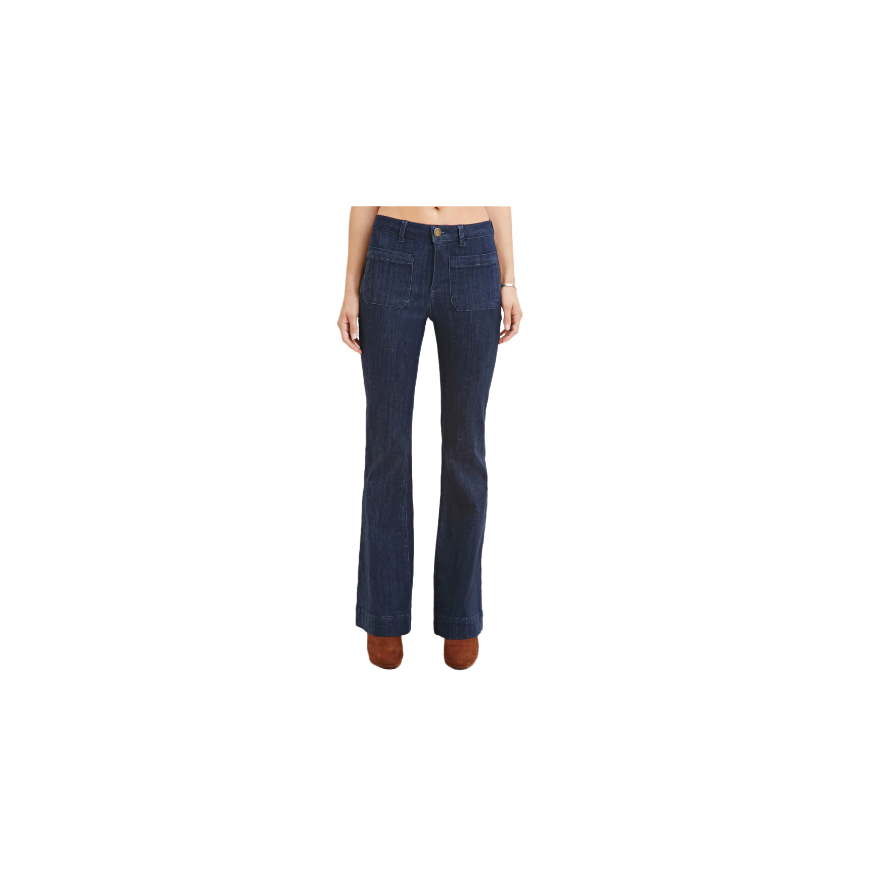 Forever21 Contemporary Classic Flare Jeans