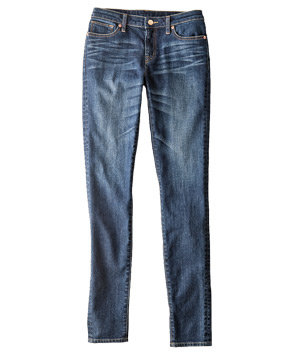 For a Straight Figure: Slim-Cut Dressy Jeans