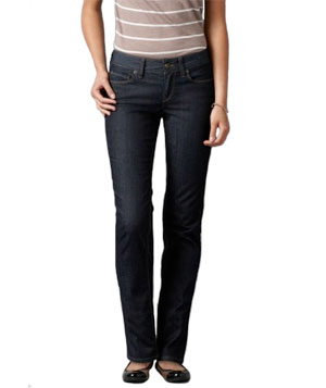 For an Hourglass Figure: Dressier Jeans