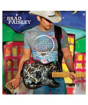 """American Saturday Night"" album by Brad Paisley"