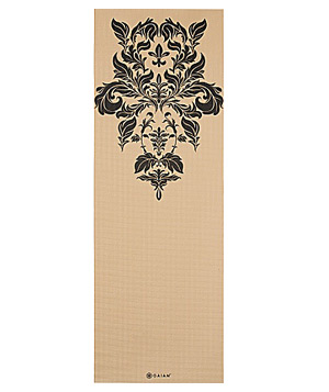 Gaiam Damask Yoga Mat