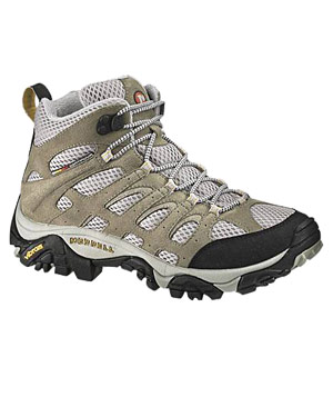 Merell's Moab Ventilator Mids sneakers