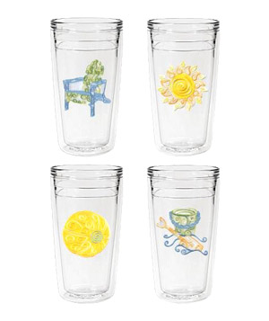 Signature USA Swirls Insulated Tumblers