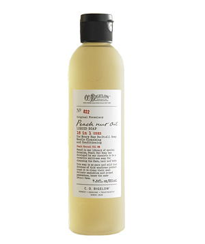 C.O. Bigelow Peach Nut Oil Cleanser