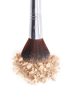 Makeup Brush with Mineral Powder