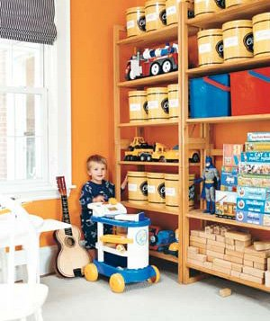 Decor Ideas For A Kid S Room Real Simple Oak Toy