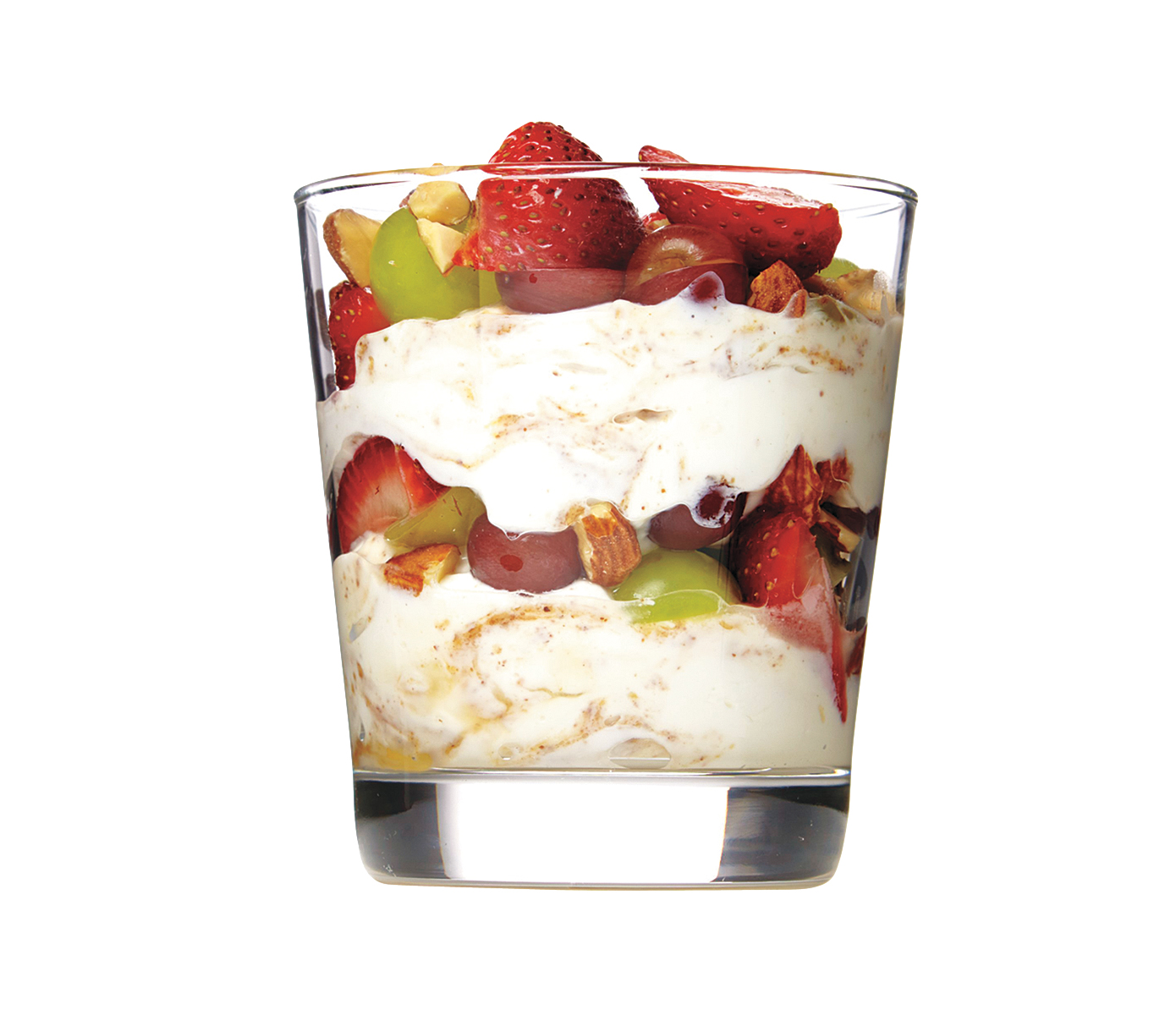Almond Butter, Yogurt, and Fruit Parfaits