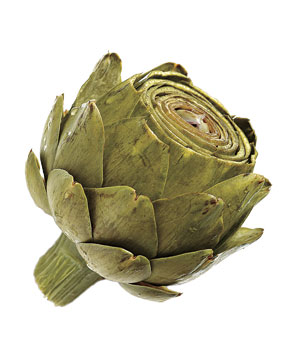 Steamed artichoke