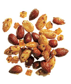 Sahale's Spicy Soledad Almonds, a healthy snack